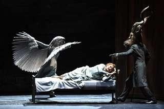 Narine Yeghiyan (Die Stimme des Falken), Camilla Nylund (Die Kaiserin) Paul Lorenger (Schwarze Gazelle | Keikobad)