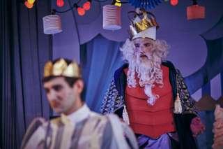 Daniel Arnaldos (Prinz) und Ingo Witzke (König)