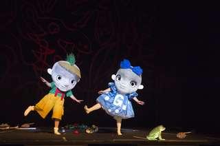 Produktionsfoto: Hänsel und Gretel