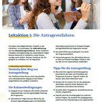 Bild zur Publikation Fact Sheets zu Erasmus+ Jugend