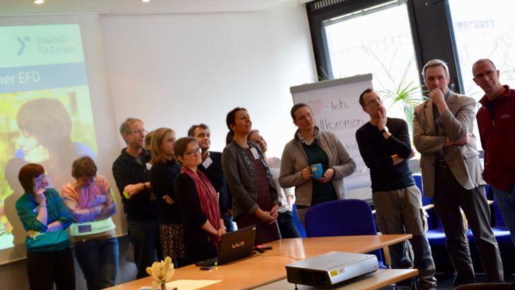 Teilnehmerinnen und Teilnehmer der Projektwerkstatt Strategischer EFD