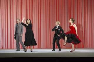Roman Trekel (Der Musiklehrer), Camilla Nylund (Ariadne), Florian Hoffmann (Tanzmeister), Brenda Rae (Zerbinetta)