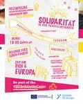 Coverbild der Publikation Gemeinsam für Europa - Starte deinen Einsatz im Freiwilligenteam