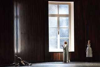 Paul Lorenger (Schwarze Gazelle | Keikobad), Camilla Nylund (Die Kaiserin) und Michaela Schuster (Die Amme)