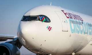 Eurowings Airbus A330-300 auf dem Flughafen Windhoek Hosea Kutako International