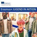 Titelbild von Foliensatz Erasmus+ JUGEND IN AKTION
