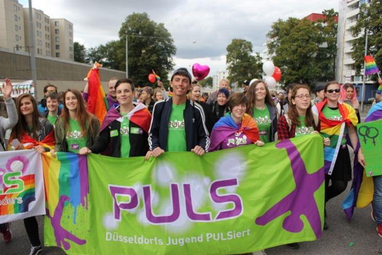 PULS steht hinter TuSeta Jugend bei der Turku Pride. Bild: PULS Düsseldorf