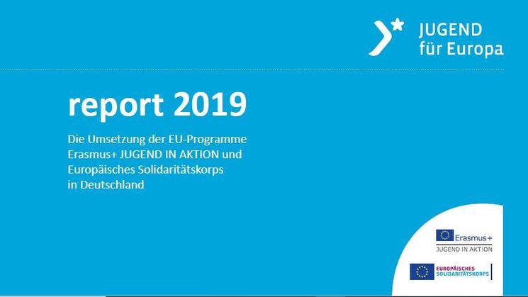 report 2019 - Titelblatt der Broschüre