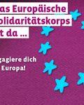 Coverbild der Publikation Foliensatz Europäisches Solidaritätskorps