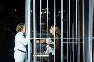 Lohengrin Szenenphoto mit mit Roberto Alagna und Vida Miknevičiūtė