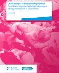 """Coverbild der Publikation """"Mehr Europa"""" in Partizipationsprojekten"""