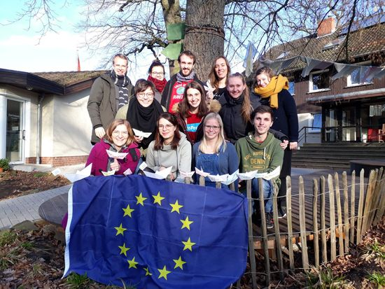 Teaser-Bild zu Im Einsatz für ein nachhaltiges Europa