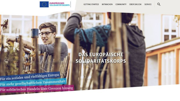Header der neuen ESK-Website