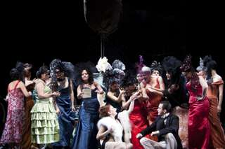 Produktionsfoto: La traviata