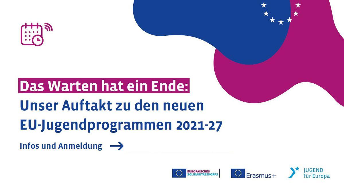 Das Warten hat ein Ende: Unser Auftakt zu den neuen EU-Jugendprogrammen 2021-2027. Weiter zu Infos und AnmeldungZertifikate
