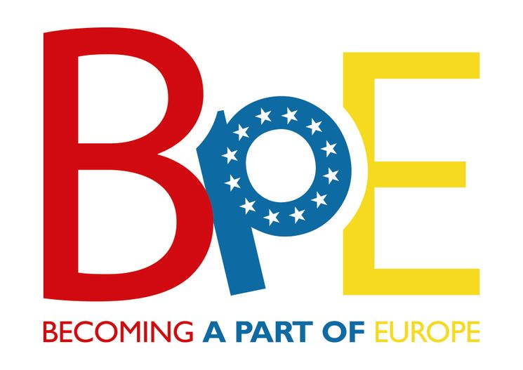 Logo des Projekts Becoming a Part of Europe
