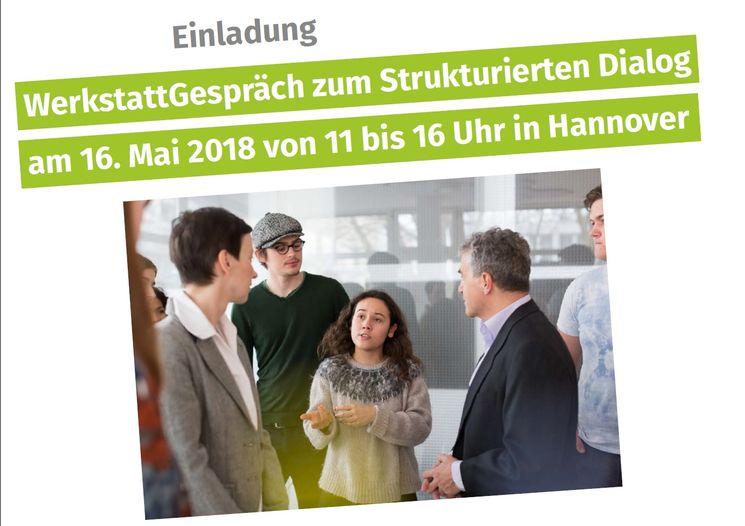 Einladungstext zum Werkstatt Gespräch am 18.05.18 in Hannover