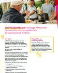 Coverbild der Publikation Fact Sheet zu den Freiwilligenteams im Europäischen Solidaritätskorps
