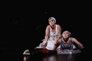 Josephine Renelt (Tilla 1) und Maria Husmann (Tilla 2)