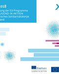 Coverbild der Publikation report 2018 - Die Umsetzung der EU-Programme Erasmus+ JUGEND IN AKTION und Europäisches Solidaritätskorps in Deutschland