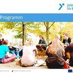 Titelbild von Folienpräsentation Erasmus+ JUGEND IN AKTION