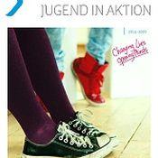 Titelbild von Kurzbroschüre Erasmus+ JUGEND IN AKTION