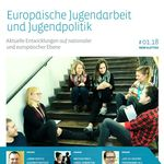 Titelbild von Europäische Jugendarbeit und Jugendpolitik #01.18