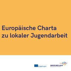 EGL - Europäische Charta zu lokaler Jugendarbeit