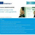 Titelbild von Mehr Europa in die Kinder- und Jugendhilfe durch Erasmus+ JUGEND IN AKTION